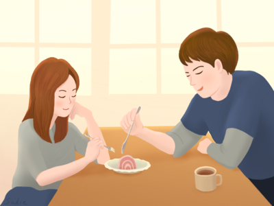 Share couple  painting