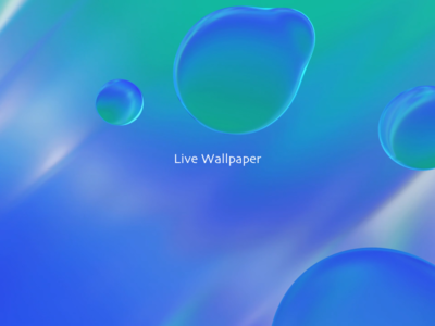 Wallpaper water wallpaper c4d