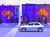 Street / Morning / NOVEMBER
