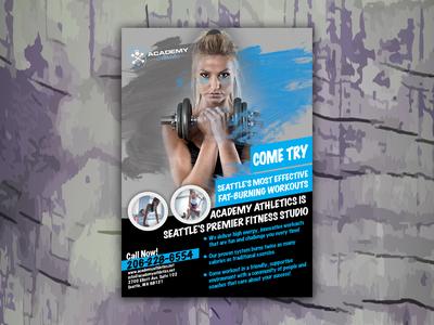 Academic Athletic Flyer