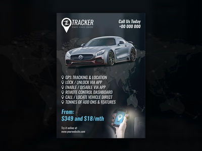 zTracker Flyer Front
