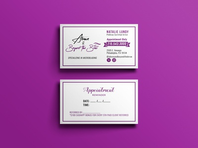 Business Card & Appointment Reminder