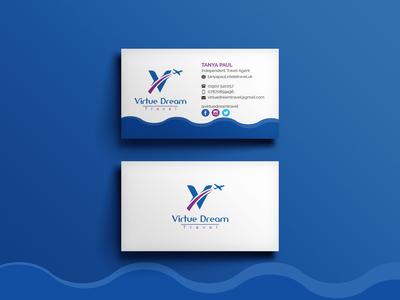 Virtue Dream Business Card