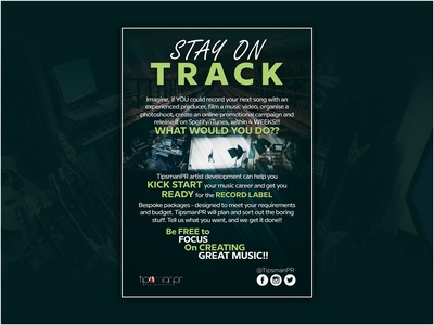 Stay on Track Flyer