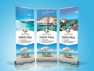 Simple Roll Up Banner