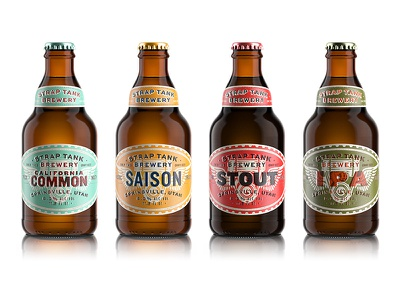 Strap Tank Brewery beer