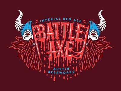 Battle Axe funeral viking