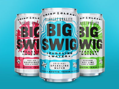 Big Swig Sparkling Water