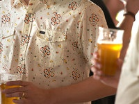 How howler helms collab pattern shirt