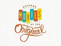 Outdoor Movies at the Original logo