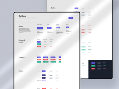 Salto   Design System   Button Component interface design systems button buttons modules saas enterprise ux b2b user experience product design button states button ui styleguide component design component library button design button component component design system