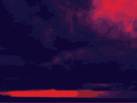 Psychedelic Skies - Holbox