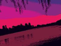 Psychedelic Skyline