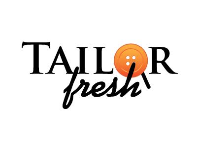 Tailor Fresh - Logo tailor logo button