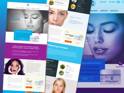 Product Web Design branding product ecommerce design web