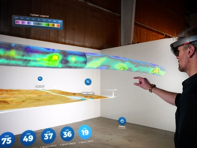 Pipe Inspection Hololens App