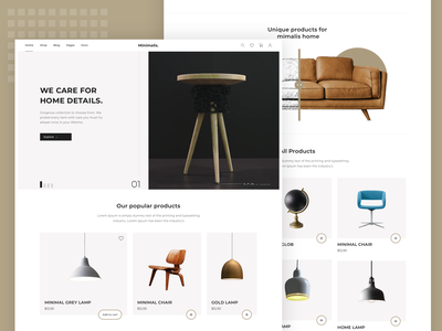 Ecommerce Theme ecommerce userinterface color user interface dribbble user experience design clean ux ui