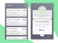 Buy Ticket UI