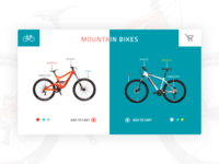 Mountain Bikes UI