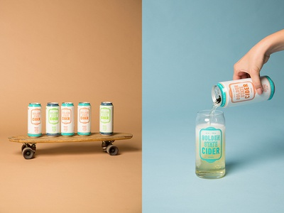 Golden State Cider –Product Shoot