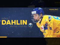 #1 Pick - Rasmus Dahlin