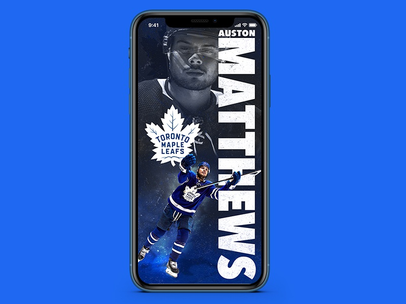 Auston Matthews Wallpaper ipad affinity photo affinity affinityphoto leafs sports design auston matthews wallpaper toronto hockey nhl sports design