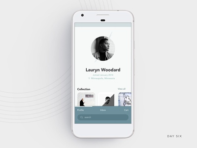 Daily UI - Day Six