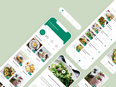 Food Recipe App design adobexd food food app uiux mobile app design system adobe brand identity app adobe xd
