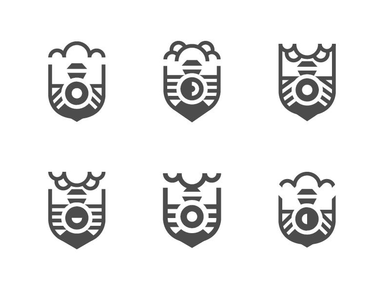 Train badges