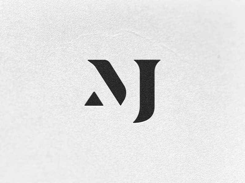 MJ Monogram Exploration 3 monogram mj concept brand type branding vector icon typography flat design logo