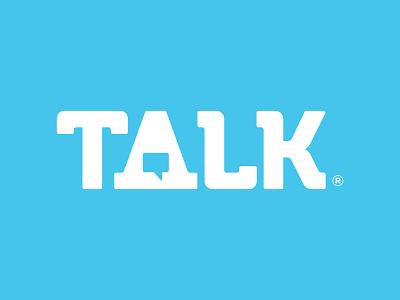 Talk branding typography concept word bubble talk bubble talk logo design design logo