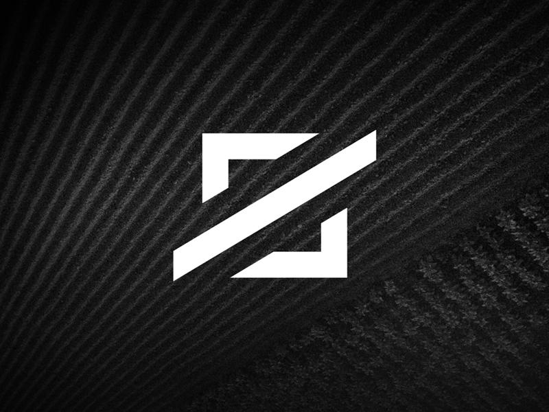 Square Logo Final Mark vector black and white square mark flat icon branding brand concept design logo design logo