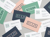 Dulin Logo Color Exploration