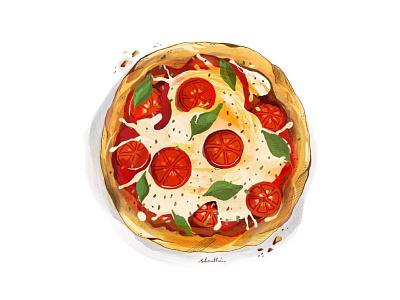 Vinnys Neapolitan Pizza food basil tomato pizza