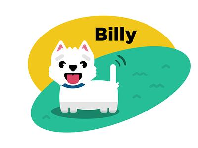 Billy! styles book art vectorart vector pet dog dogs illustration illustrator