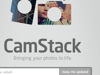 CamStack holding page