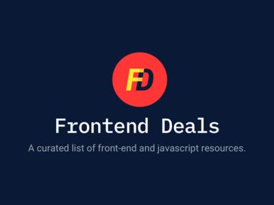 Frontend Deals logo resources js frontend