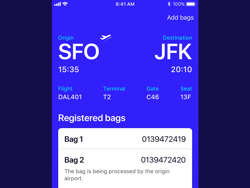 Airport Tracking System tracking bags luggage airport