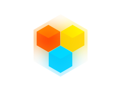 LEO JS colored cubes library logo