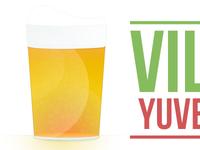 Beer simple illustration