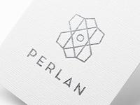 PERLAN logo design