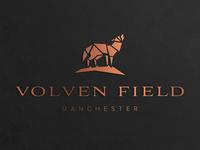 Volven Field logo design