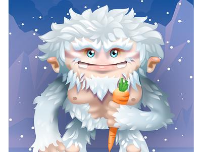 Snowman snowman yeti vector art vector illustration graphicdesign vectorart inkscape illustration vector