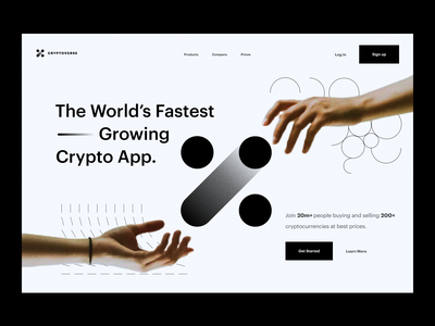 landing page: cryptocurrency payment