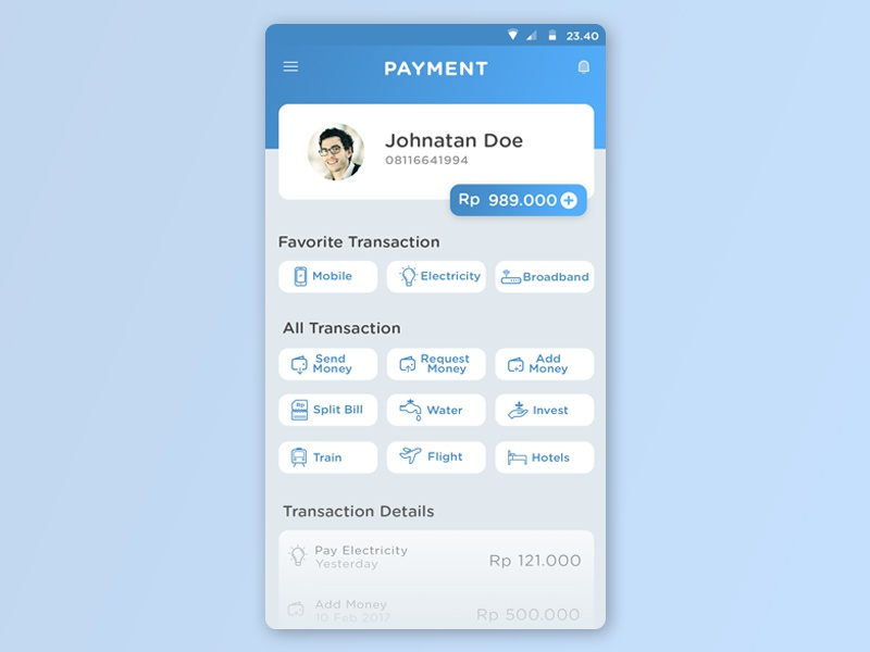 Mobile Payment App debut first shoot e-money digital payment mobile payment app mobile payment payment app payment