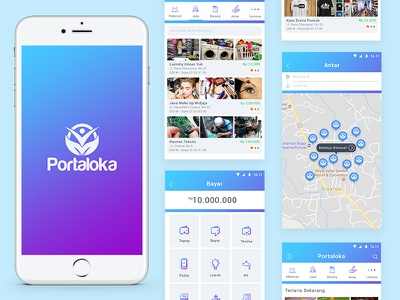 Exploration | Platform Local E-Commerce maps payment ecommerce iphone ios11 ios home card android activity