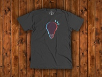 """Think"" t-shirt for Cotton Bureau"