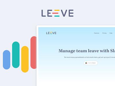 LeeveBot Website landing page branding website