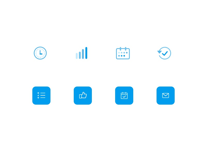 Leeve Icons time icon ui icons