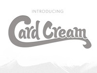 Introducing Card Cream